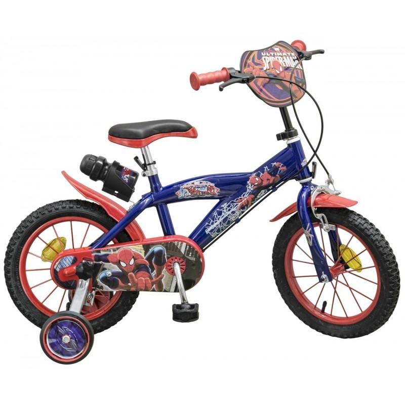 bicicleta 14 spiderman