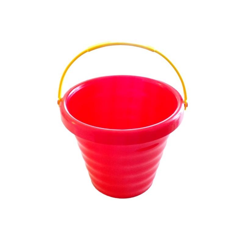 Galeata rosie plastic 13 cm