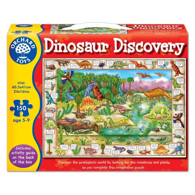Puzzle In Limba Engleza Lumea Dinozaurilor Dinosau