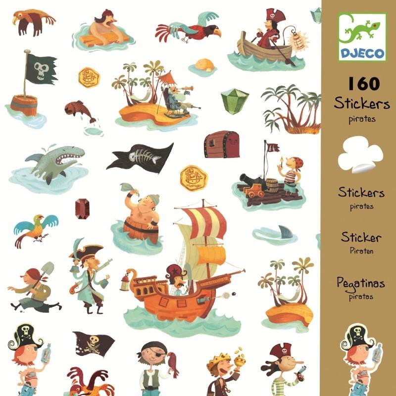 abtibilduri djeco pirati