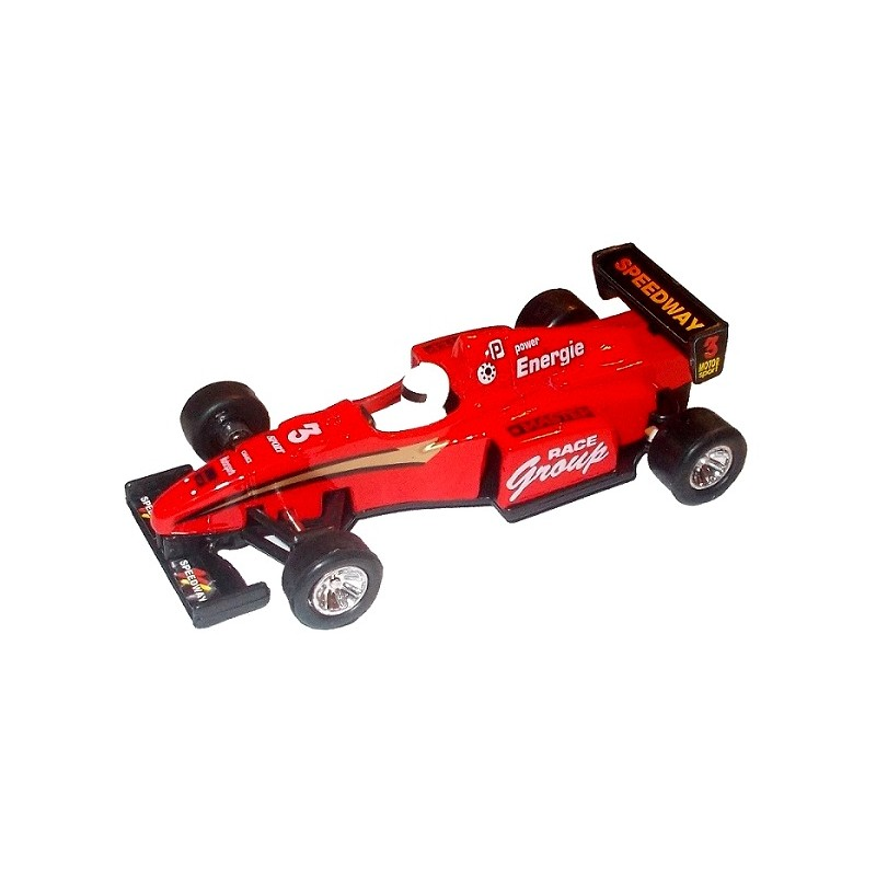 Masina metalica Formula 1 Power Racer, rosu