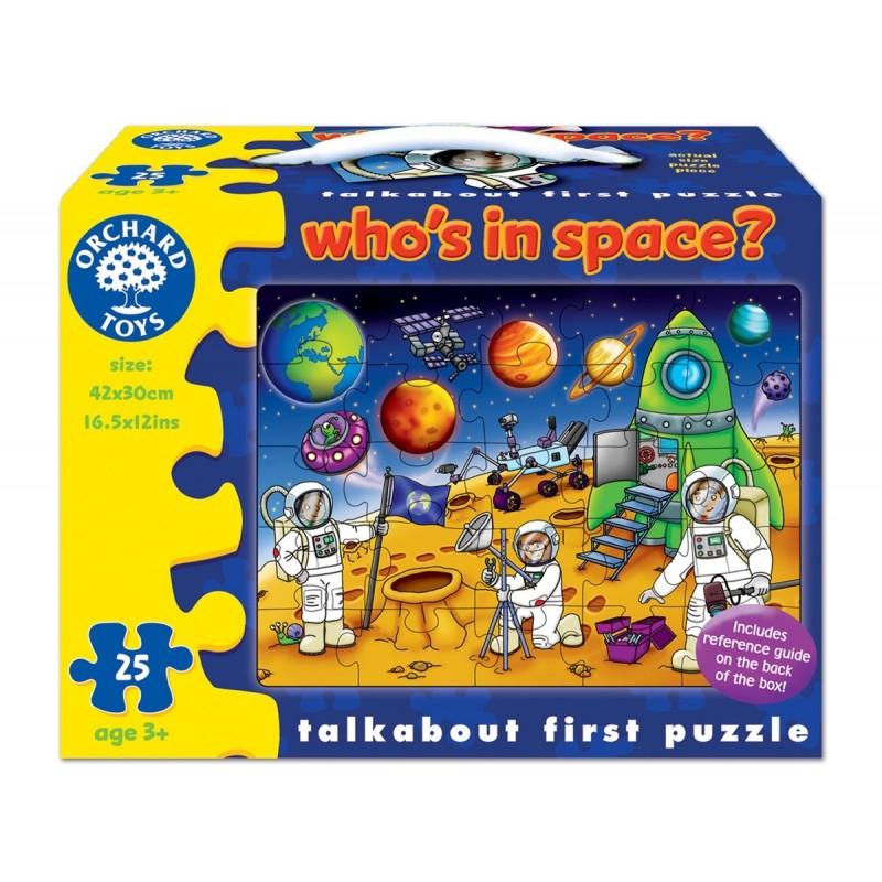 puzzle spatiul cosmic (25 piese) whos in space