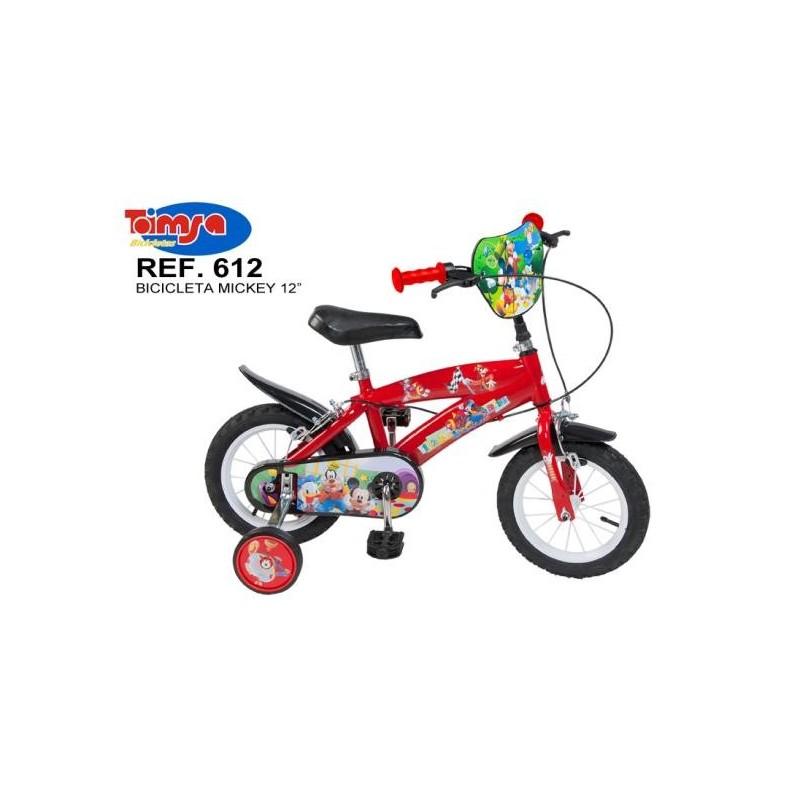 Bicicleta 12 Mickey Mouse