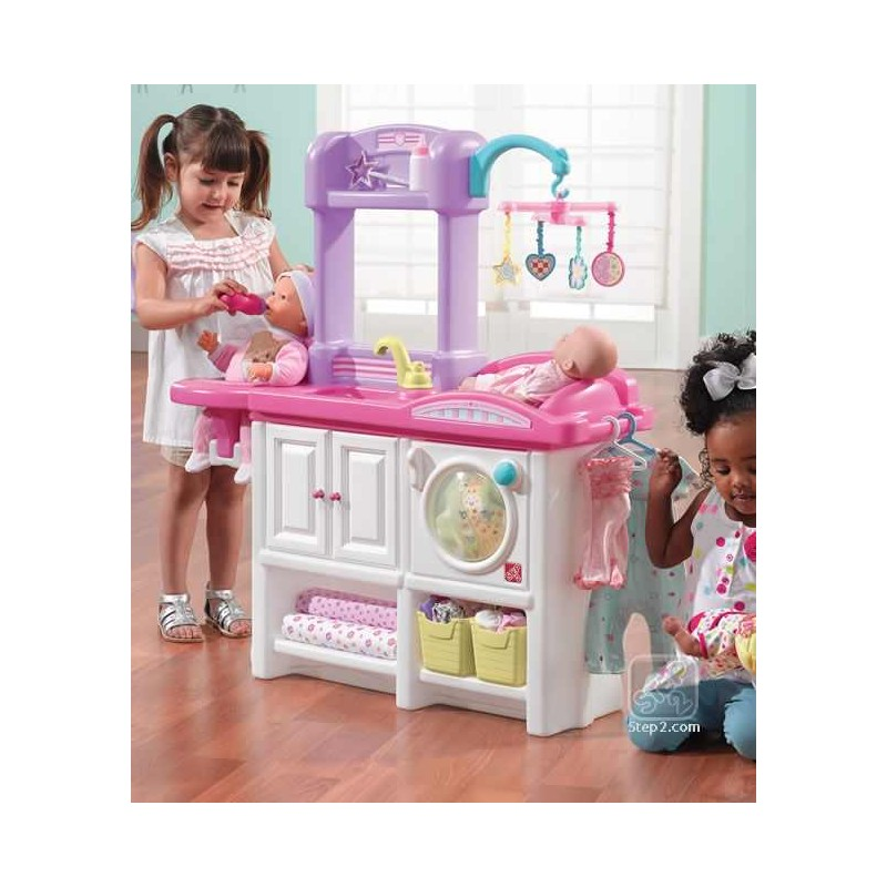 Mini cresa pentru copii NEW - Love & Care Deluxe Nursery