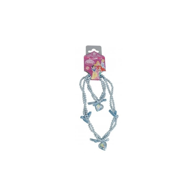 Accesorii fetite perle colier si bratara Disney Cenusareasa