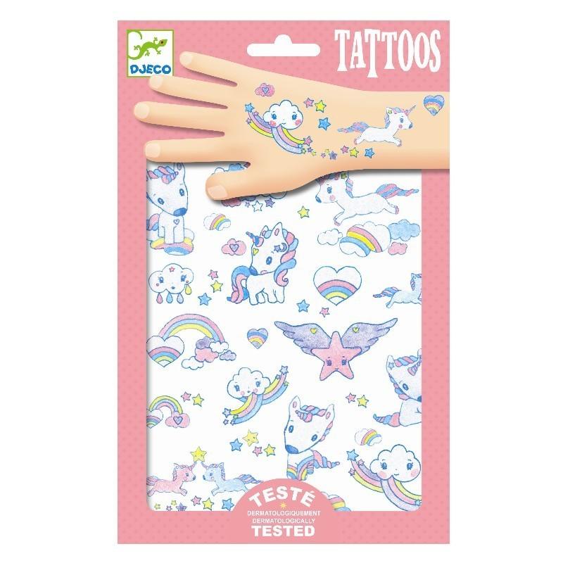 tatuaje djeco unicorni