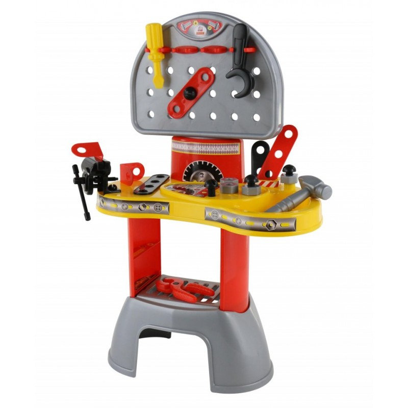 banc de lucru pentru copii cu accesorii workshop