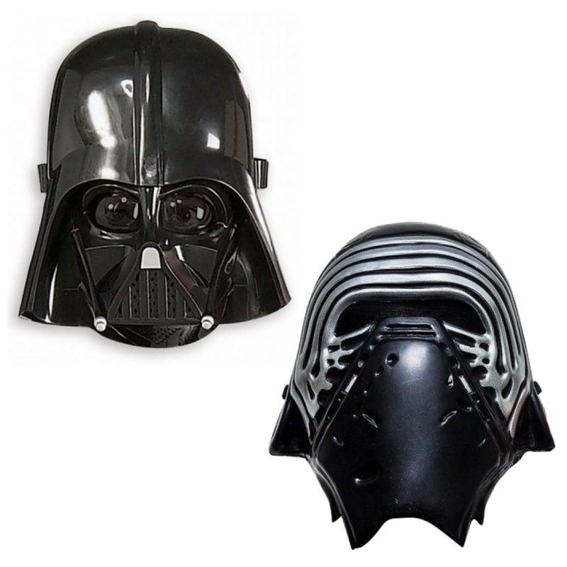 set 2 masti star wars, darth vader si kylo ren