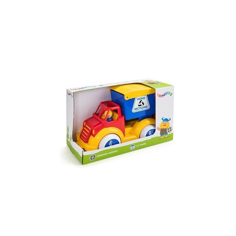 Camion Gunoi cu 2 figurine - Super