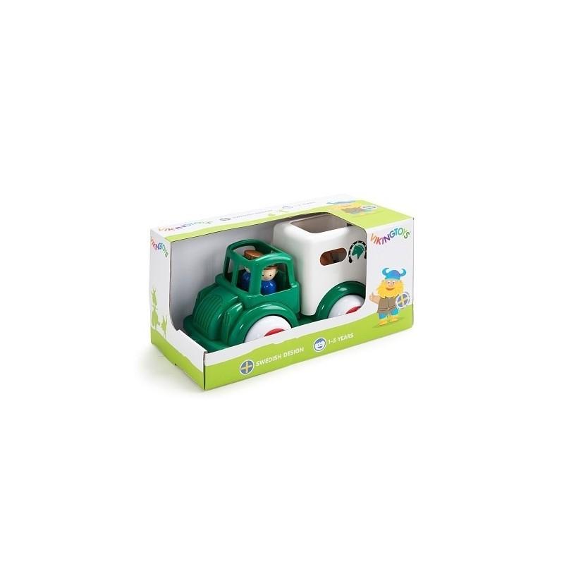 Camion Transport Cai cu figurine - Jumbo