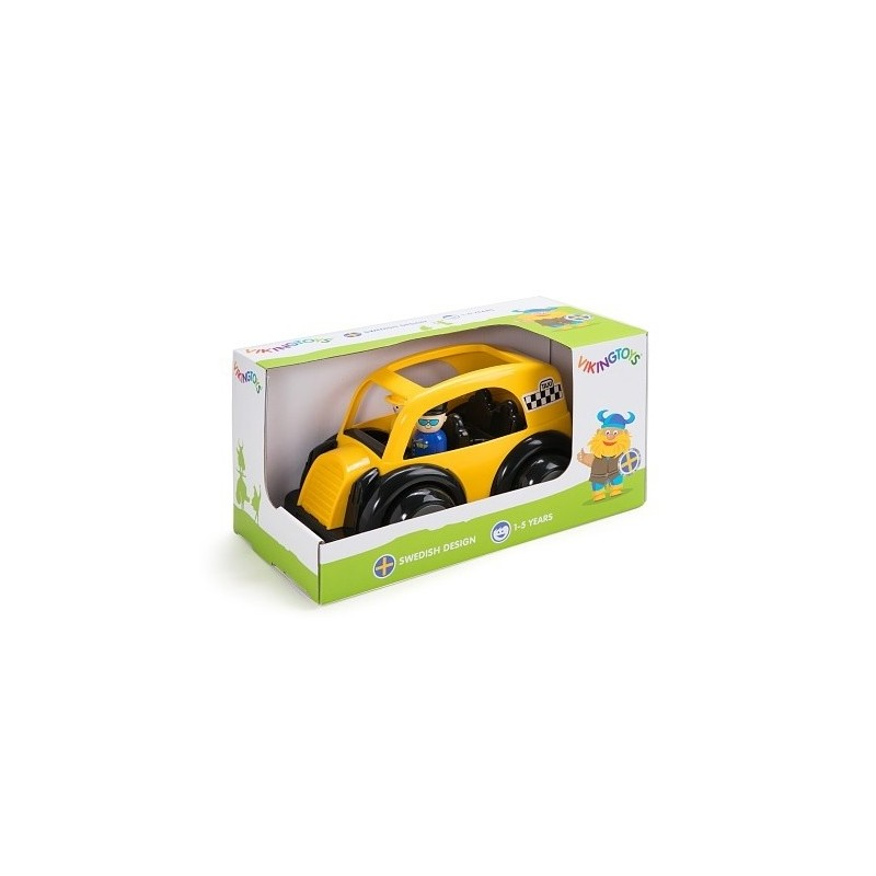 Masina Taxi cu 2 figurine - Jumbo