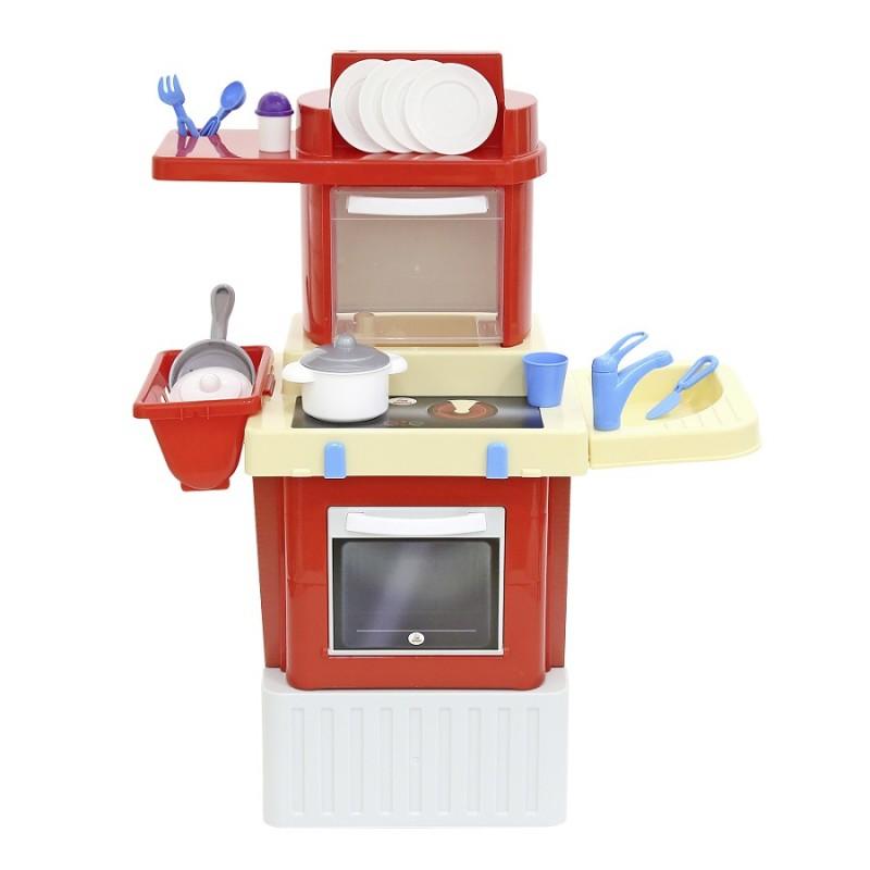 bucatarie pentru copii infinity ii cu microunde si accesorii