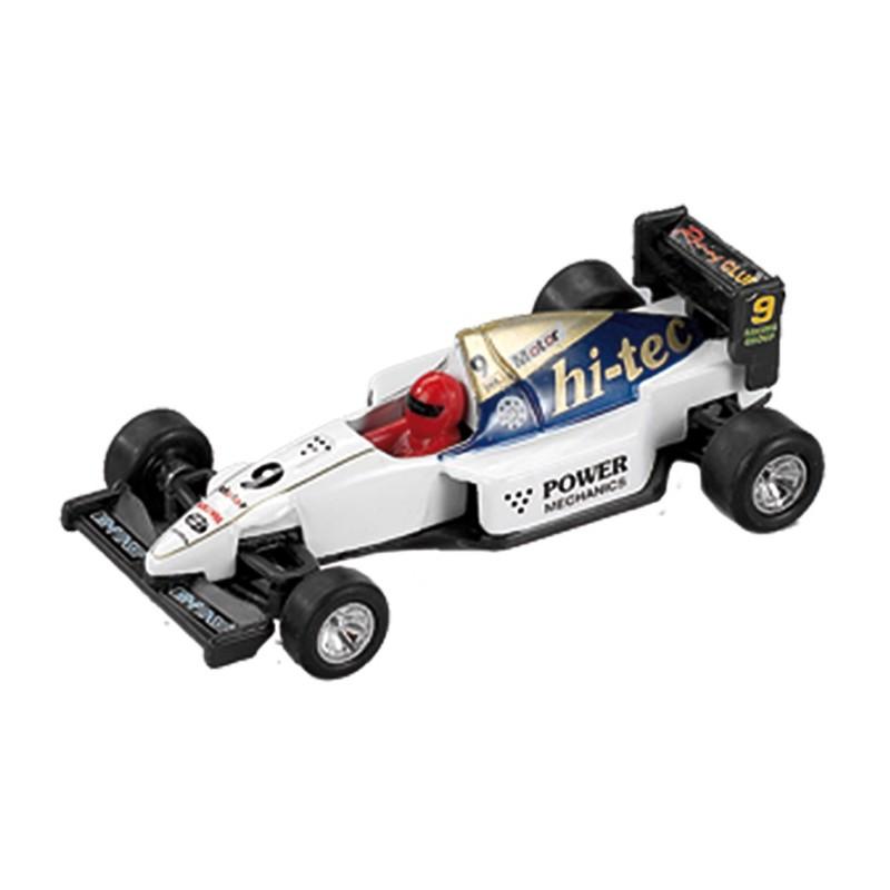 Masina metalica Formula 1 Power Racer, alb