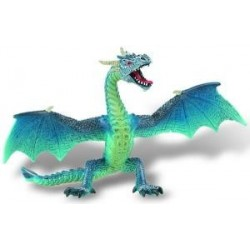 Figurina dragon turcoaz