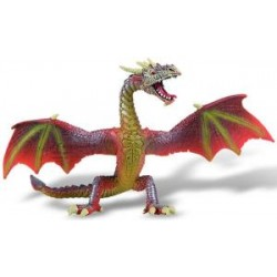 Figurina dragon rosu
