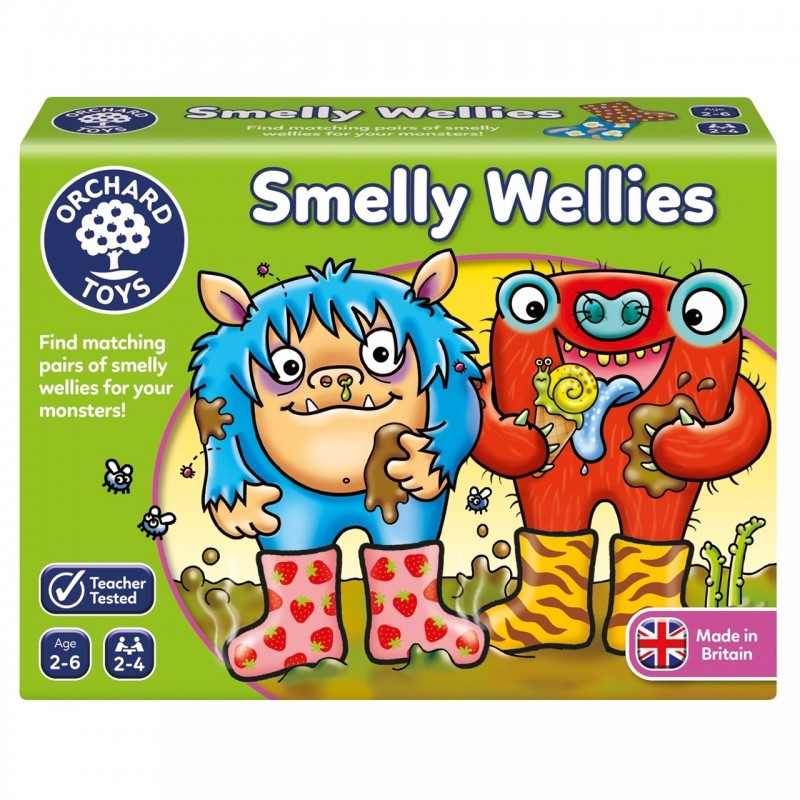 joc educativ cizmulitele de cauciuc smelly wellies