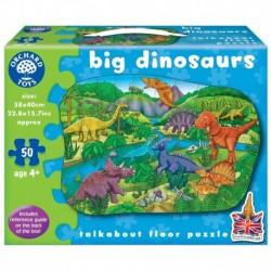 Puzzle de podea Dinozauri 50 piese BIG DINOSAURS