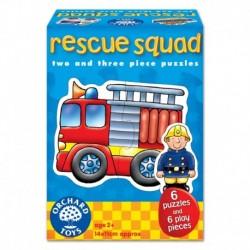 Set 6 puzzle Echipa de salvare RESCUE SQUAD