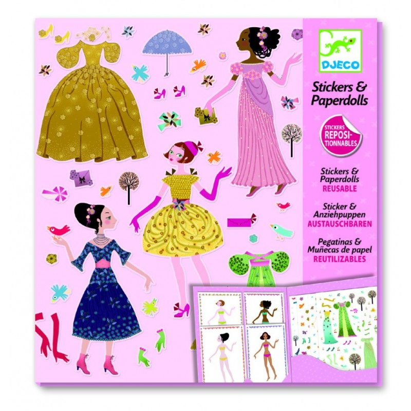 abtibilduri repozitionabile djeco - istoria modei