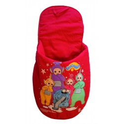 Ornament perete 47 cm rosu Teletubbies