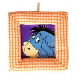 Tablou textil pentru perete Disney Aiurel, carouri portocaliu