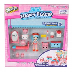 Shopkins Welcome Pack Dreamy Bear S1