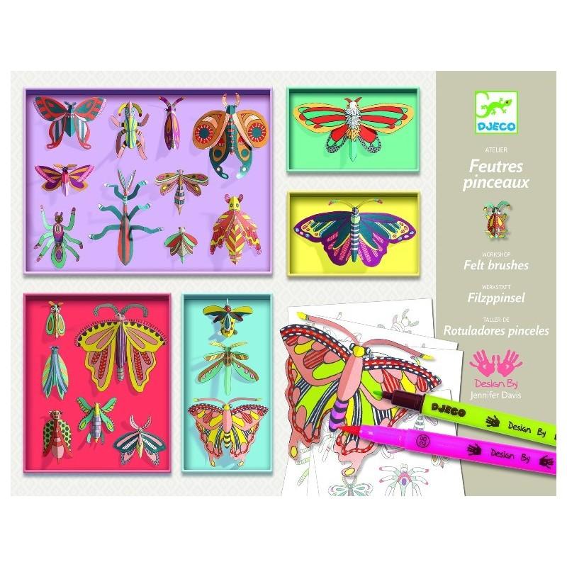 cabinet de curiozitati djeco, fluturi