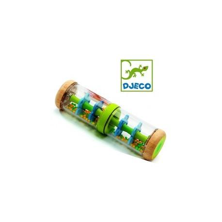 Jucarie bebe Djeco Ploaie colorata-Verde
