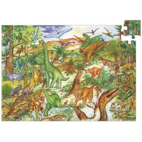 Puzzle observatie Djeco Dinozauri