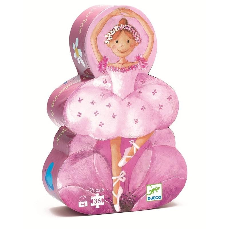 puzzle djeco - balerina