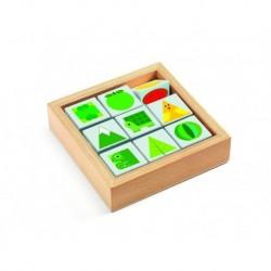 Tribasic, cuburi rotative