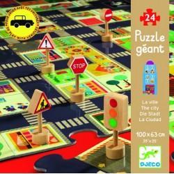 Puzzle gigant Djeco Orasul