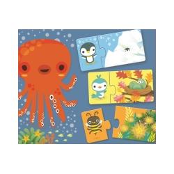 Puzzle duo Djeco Ascunselea