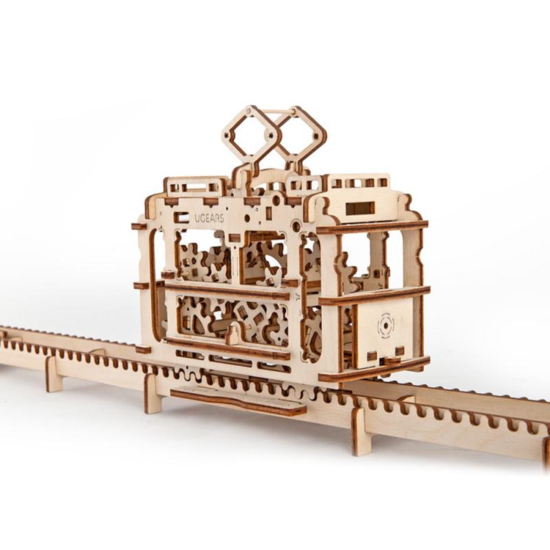 tramvai - puzzle 3d modele mecanice