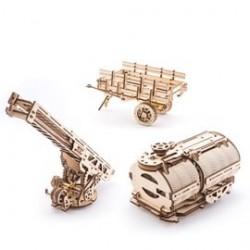 Atasamente pentru camion - Puzzle 3D Modele Mecanice