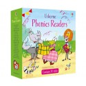 Phonics Readers Boxset 2 (20), set carti Usborne limba engleza