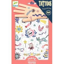 Tatuaje Djeco fluorescente, Vise frumoase