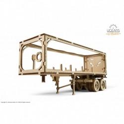 Remorca pentru camion VM-03 - Puzzle 3D Modele Mecanice