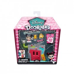 DOORABLES S1 MINI SET JOACA 2 FIGURINE SI ACCESORII - Boo Bedroom