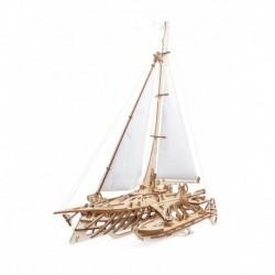 Barca Trimaran - Puzzle 3D Modele Mecanice