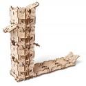 Turn mecanic pentru zaruri Dice Tower - Puzzle 3D Modele Mecanice