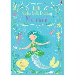 Mermaid - Little sticker dolly dressing , Carte Usborne Engleza