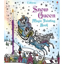 Magic painting The Snow Queen , Carte Usborne Engleza