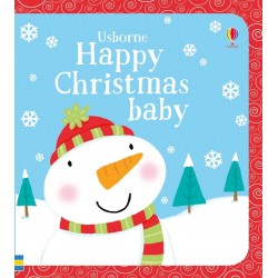 Happy Christmas baby , Carte Usborne Engleza