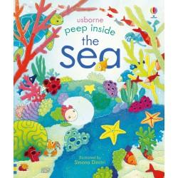 Peep inside the sea - Peep inside , Carte Usborne Engleza