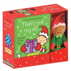 That's not my elf... book and toy , Carte Usborne Engleza