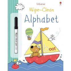 Wipe-clean alphabet , Carte Usborne Engleza