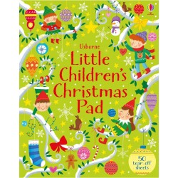 Little children's Christmas pad , Carte Usborne Engleza