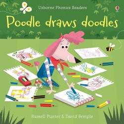 Poodle draws doodles - Phonics readers , Carte Usborne Engleza