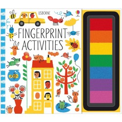 Fingerprint activities , Carte Usborne Engleza